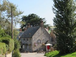 The Bankes Arms in Studland, Dorset