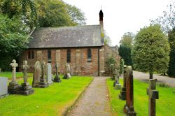 The Chapel in Wetheral Cemetery, Cumbria