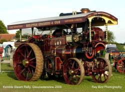Steam Rally, Cotswold Airfield, Kemble, Gloucestershire 2009