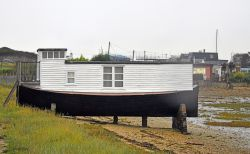 Houseboat on The Ketch, Hayling Island