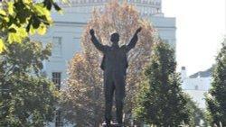 Gustav Holst Statue in Cheltenham