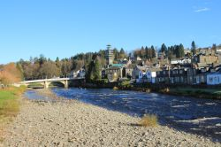 THE RIVER ESK AT LANGHOLM,DUMFRIES & GALLOWAy
