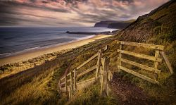 Gateway to Cattersty Sands - Skinningrove