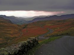 Hardknott on a hard day
