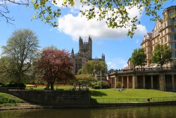 River Avon and Bath Abbey