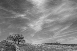 Sky over Moorland near Newtown, Staffordshire Moorlands