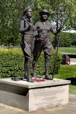 Womens Land Army and Timber Corps Memorial. Alrewas