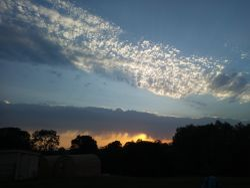 Sunset Near Bulwick, Northamptonshire