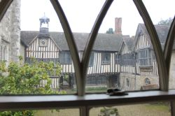 Ightham from a window