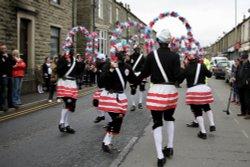 Britannia Cocoanut dancers