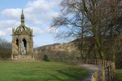 The Bolton Abbey Memorial Fountain.