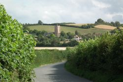 The village of Old Cleeve, Somerset.
