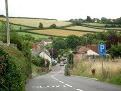 The village of Kilve, Somerset