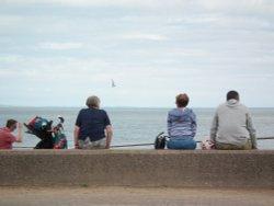 Enjoying the view - Minehead seafront