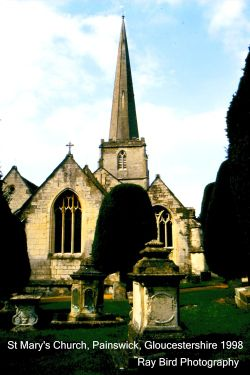 St Mary's Church, Painswick, Gloucestershire 1998
