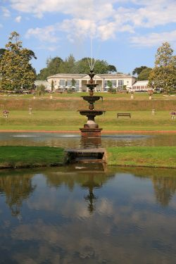 Bicton Fountain and Entrance
