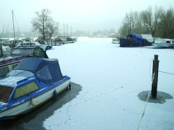 Winter on Oulton Broad