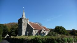 St Peter and St Paul's Church, Mottistone, IOW