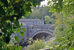 Bridge over river Ure at Aysgarth