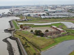 Star fort at Tilbury, essex