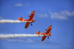 Eastbourne Air Show 2019 Wingwalkers
