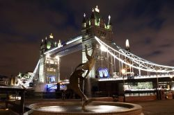 Dolphin Statue, Tower Bridge