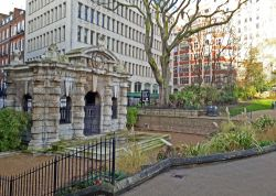 Watergate at Victoria Embankment Gardens, London