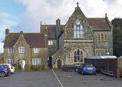 The Old School, East Farleigh Wallpaper
