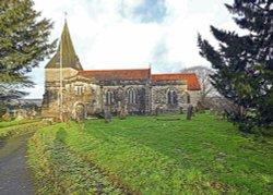 St. Mary's Church, East Farleigh Wallpaper