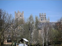 Towers of Ely Cathedral
