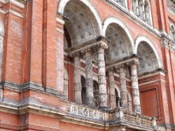 Balcony at the Victoria and Albert Museum