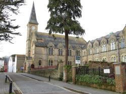 Christian centre in Millhams Street, Christchurch (Dorset)