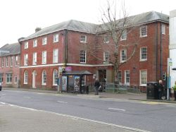 The Druitt library (home of James Druitt) in Christchurch (Dorset)