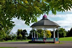 Bandstand Locke Park Barnsley