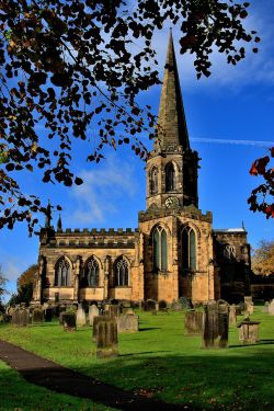 Bakewell Parish Church, Derbyshire