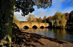 Packhorse Bridge, Bakwell, Derbyshire