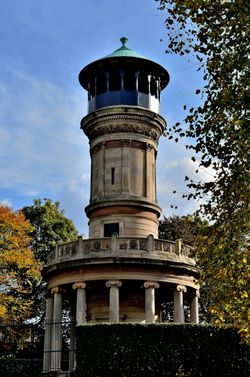 Tower in Locke Park, Barnsley