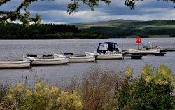 Boats on Kielder Water, Northumberland