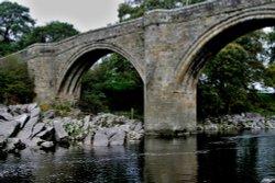 Devils Bridge, Kirkby Lonsdale, Cumbria Wallpaper