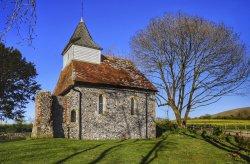 Lullington Church near Alfriston, East Sussex