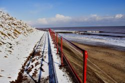 Snow at Hornsea