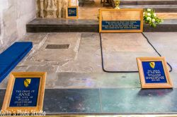 Resting place of Shakespeare