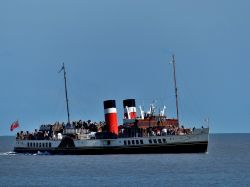 Paddle Steamer Waverley off Clacton-on-Sea