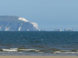 A nice shot of the Needles, Isle of Wight from Mudeford Quay, Dorset