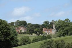 View of Greys Court estate from the fields below Rotherfield Greys