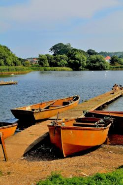 Rowing Boats Hornsea Mere