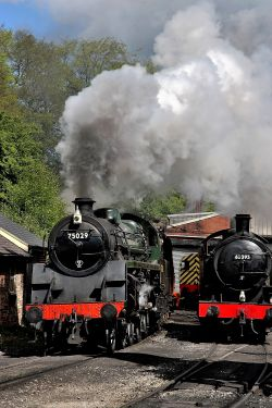 Steam Locomotives at Grosmont