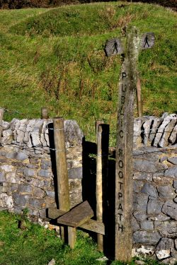 Stile and Footpath, Hawes