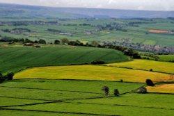 View from Castle Hill near Huddersfield