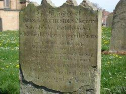 St Hilda Gravestone Poem